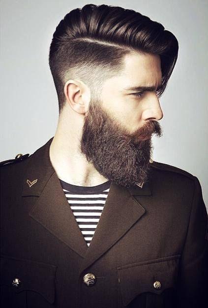 Tagli di capelli uomo con barba