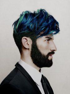 Colore capelli uomo  le tinte in voga  65f8f9a8df3e
