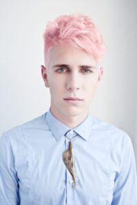 Colore capelli ghiaccio uomo