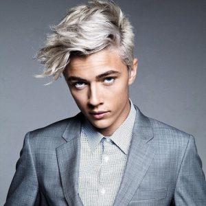 Colore per capelli grigi uomo