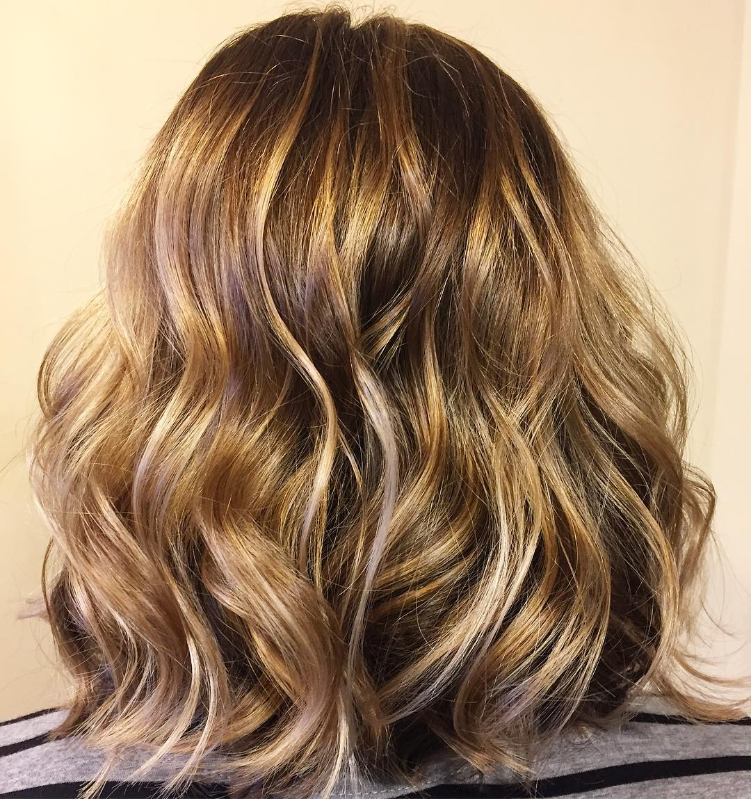 capelli golden brown