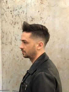 Tagli maschili pochi capelli