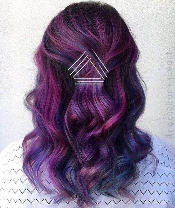 pastelage, capelli pastello