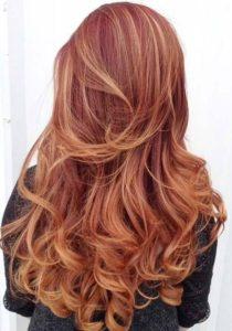 capelli rossi 2017, tinte rosse, organic red