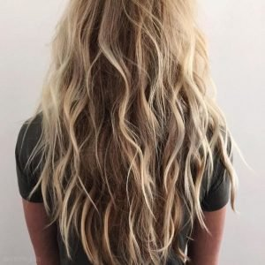 capelli estate 2017, beach waves, flat waves