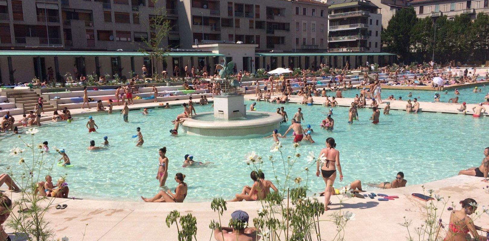 piscine a milano, piscine all'aperto a milano