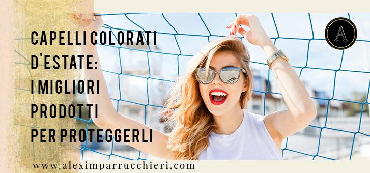 capelli colorati d'estate, color save system professional