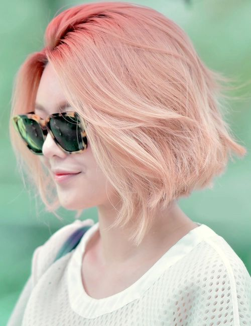 peach blonde, peach blonde hair, capelli peach blonde