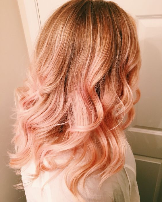 peach blonde, peach blonde hair, capelli peach blonde
