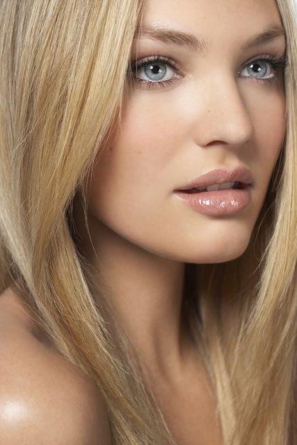 sun-stripping make-up, sun-stripping hair