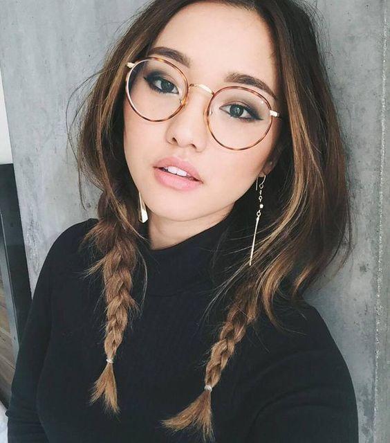 trecce pigtail braids