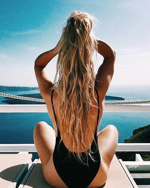 cura dei capelli in vacanza