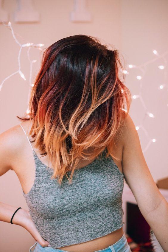 coral hair
