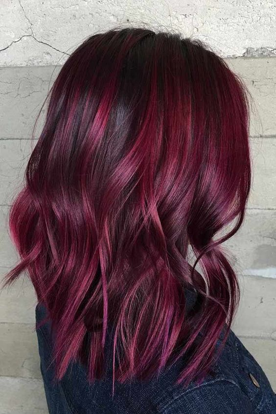 Mulled Wine Hair Il Nuovo Rosso 2018 Alexim Parrucchieri