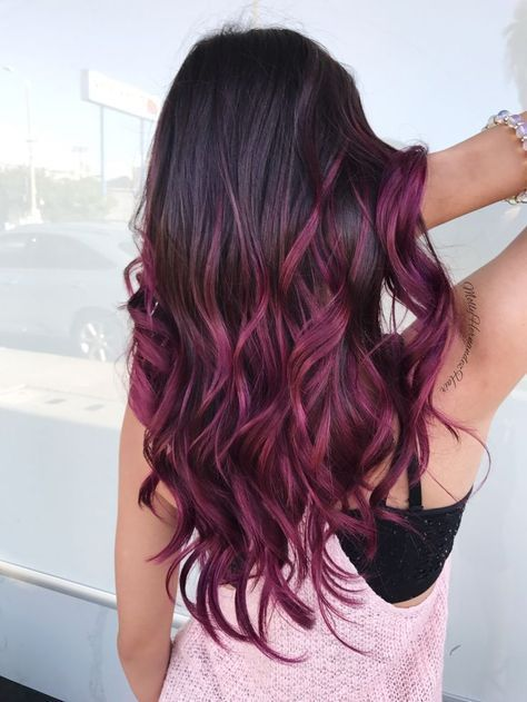 berry sorbet hair, capelli primavera 2018