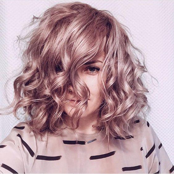 capelli ricci colorati 2018