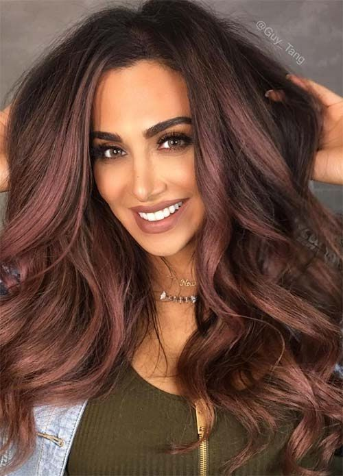 Colore capelli x pelle olivastra