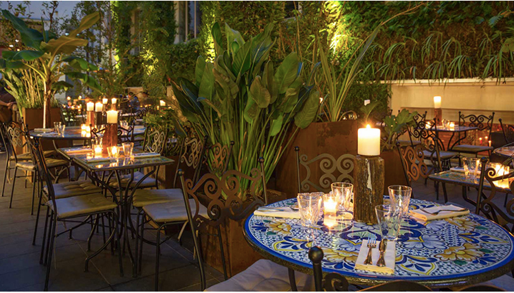 ristoranti con giardino milano