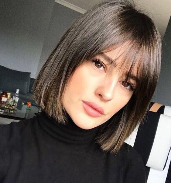 tagli capelli lisci 2018