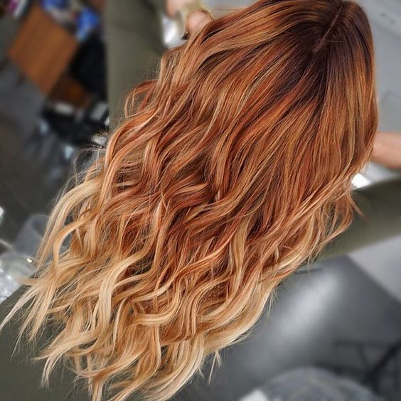 capelli blonde orange