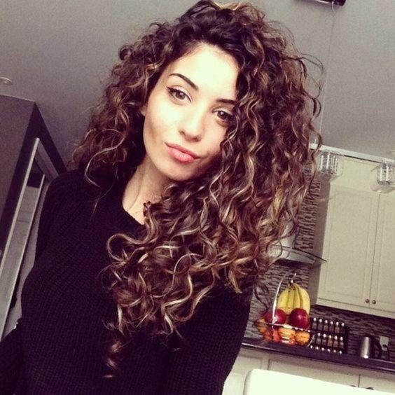 capelli ricci perfetti