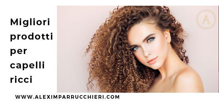 prodotti per capelli ricci
