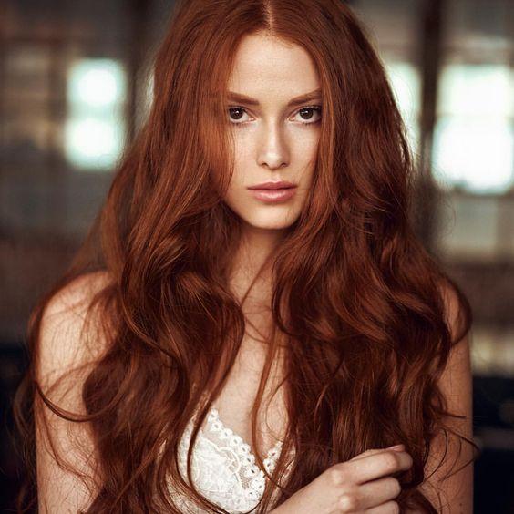 capelli rossi autunno 2018