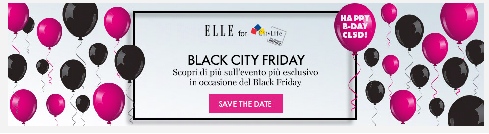 black friday milano