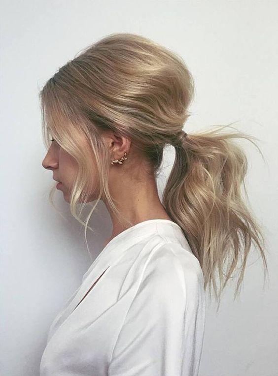 capelli raccolti bombati