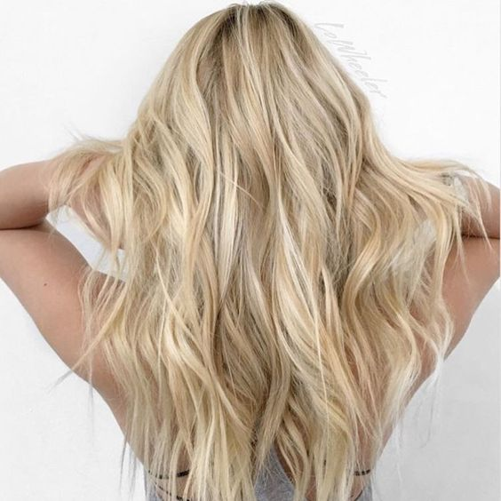 capelli biondi sfumati