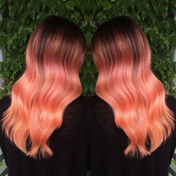 balayage colorati 2019