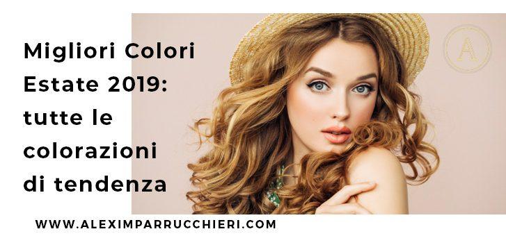 migliori colori estate 2019