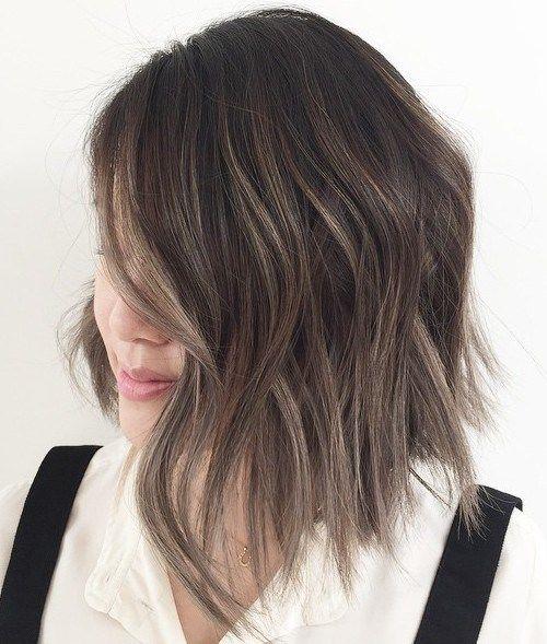 contouring capelli castani