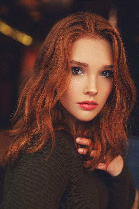contouring capelli rossi