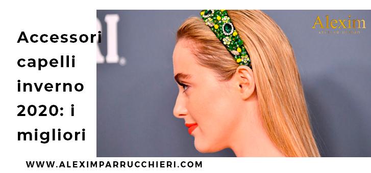 accessori capelli inverno 2020