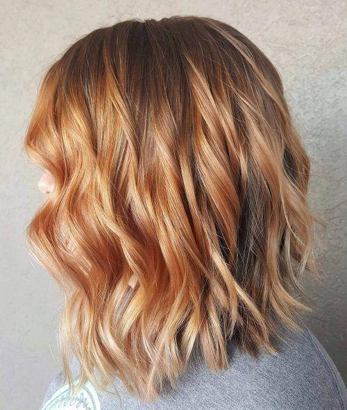 capelli biondi inverno 2019