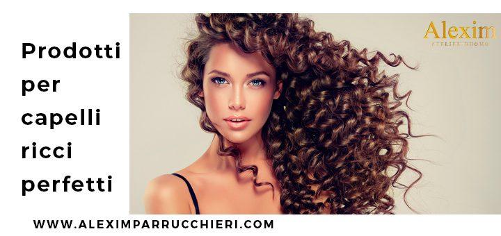 prodotti per capelli ricci perfetti