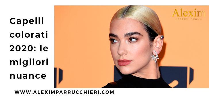 capelli colorati 2020