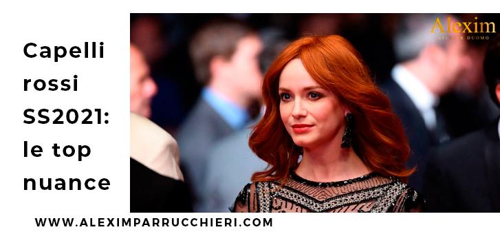 capelli rossi primavera 2021