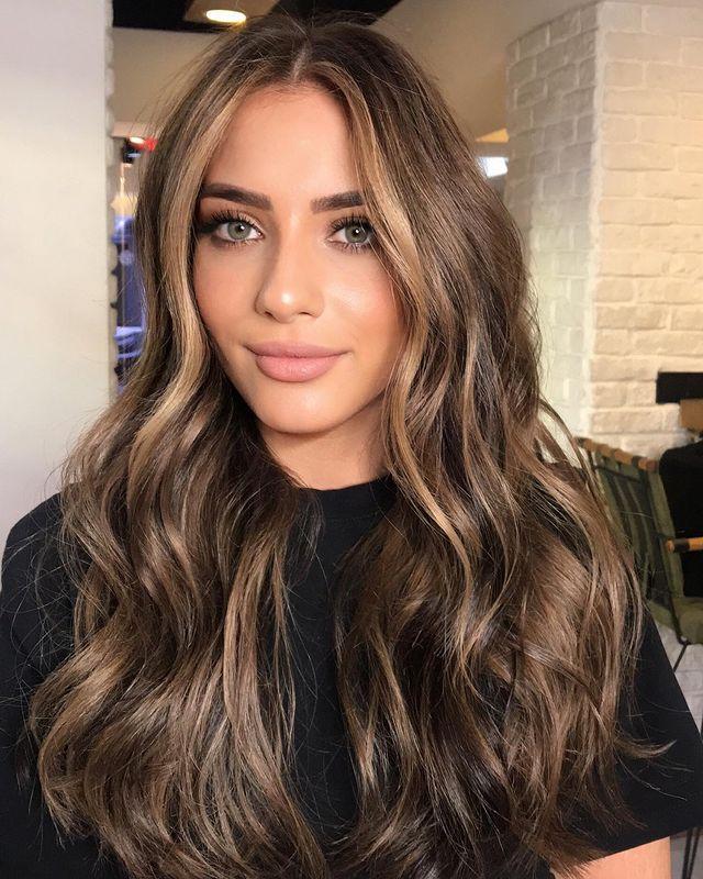 riflessi capelli castani, bronzer hair